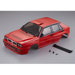 KILLERBODY LANCIA DELTA HF INT EGRALE 190MM FINISHED BODY RED