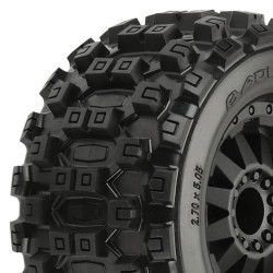"PROLINE BADLANDS MX28 2.8"" All TERRAIN ON BLK F11 WHEEL JATO/"""