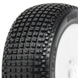 PROLINE BIG-BLOX X3 PREMOUNT LIGHTWEIGHT WHITE WHEELS (2)
