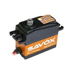 SAVOX HV DIGITAL BRUSHLESS SERVO 32KG/0.12s@7.4V