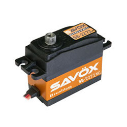 SAVOX HV DIGITAL BRUSHLESS SERVO 7KG/0.035s@7.4V