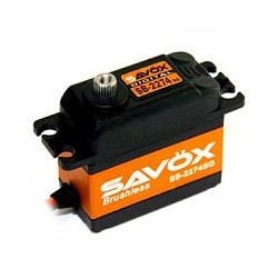 SAVOX HV DIGITAL BRUSHLESS SERVO 25KG/0.08s@7.4V