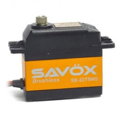 SAVOX HV DIGITAL BRUSHLESS SERVO 9KG/0.042s@7.4V
