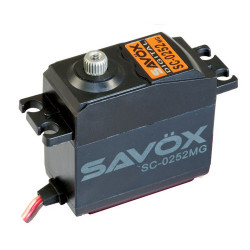SAVOX STD SIZE DIGITAL SERVO METAL GEAR 10.5KG@6V