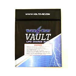 VOLTZ CHARGE VAULT LIPO SACK LARGE BAG 23cm x 30cm