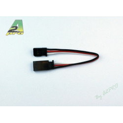 Rallonge 10cm Futaba - câble 0,30mm² (13059)