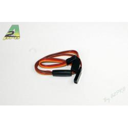 Cordon Y JR Or 120mm x 3 - câble 0,30mm² (5 pièces) (13105-0)