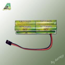 Pack Tx B 9.6V/AP-2500 Futaba type servo (8259B)