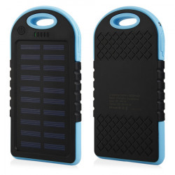 POWER BANK SOLAR F1 6000mAh waterproof Bleu