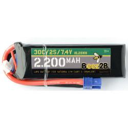 Batterie Lipo 2s 7.4v 2200mAh pour Vaterra 1/14 Cars & crawler