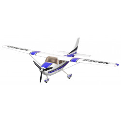 Avion 1400mm Cessna 182 AT Bleu (5ch ver.) kit PNP