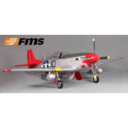 Avion 1400mm P51 Red tail (V8) kit PNP