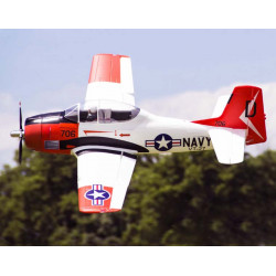 Avion 1400MM T-28 (V4) RED kit PNP