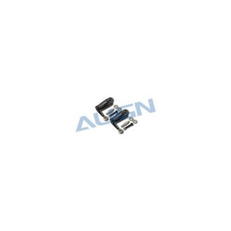 T-Rex 500 - 500FL Main Rotor Holder Set/Black (H50126T)