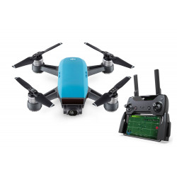 DJI Spark Mini Drone Fly More Combo Sky Blue