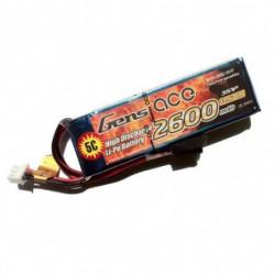 Gens ace 2600mAh 11.1V TX 3S1P Lipo Battery pack (B-TX-2600-3S1P)