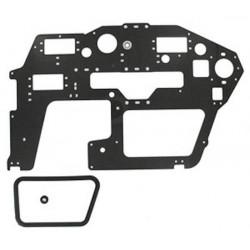 T-Rex 600 - Carbon Main Frame(L)/2.0mm (HN6054T)