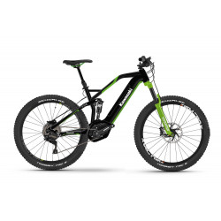 KAWASAKI KBX 2.0 Full Suspension Mountain Bike 27.5+ green Bosch drive