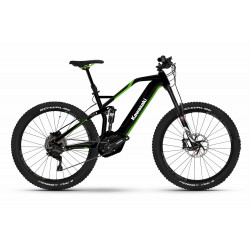 KAWASAKI KBX 4.0 Full Suspension Mountain Bike 27.5+ green Bosch drive