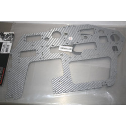 T-Rex 600 - Fiberglass Main Frame(L)/2.0mm (HN6056T)