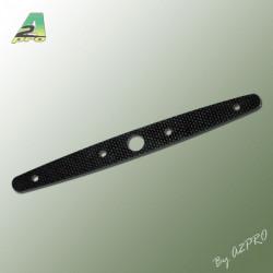 Bras de servo double 60mm carbone pour palonnier 7450-7452-7455 (7899)
