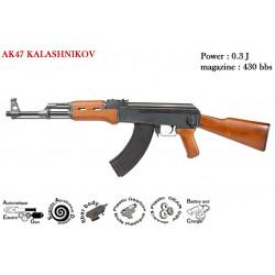 CYBERGUN - AK 47 Kalashnikov - AEG 0.3J - 6 mm