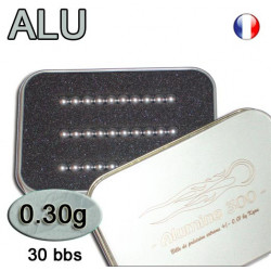 Kyou - Alumine 0.30 - billes de precision 0.01 (30 bbs)
