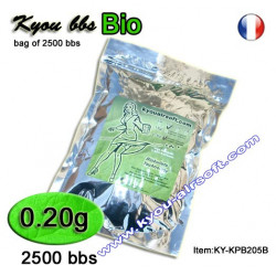 Kyou - KPB BIO 0.20g 0.5Kg. white (bag of 2500 bbs)