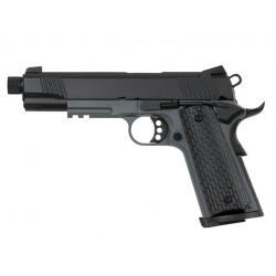 ARMY - 1911 R28 TG2 - GAZ - GBB - full metal - 6mm - 1J - Sliver
