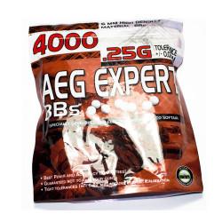 Billes Expert 6mm 0.25gr - Sachet 4000BBS- (plastique)