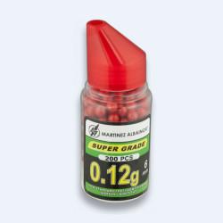 Billes de peinture Rouge 6mm - verseur 200BBS