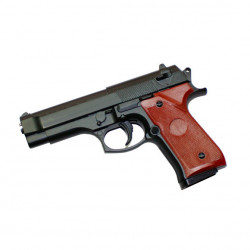Small M9 Full Metal Black - 0.5J - Spring
