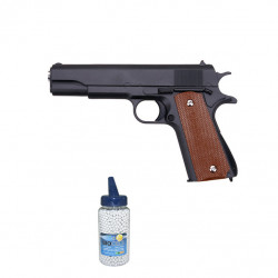 1911 Full Metal Black - 0.5J - Spring - PACK A