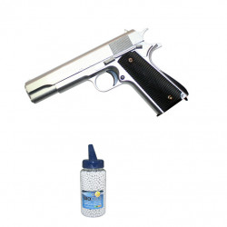 1911 Full Metal sliver - 0.5J - Spring - PACK A