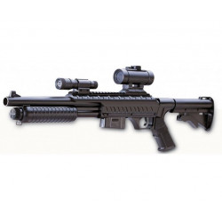Fusil a pompe SWAT - Spring - 6mm - 05J - ABS