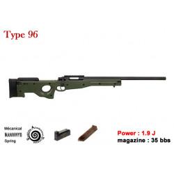 Sniper Type 96 AWP - OD - Ressort - 1.9J - 6mm
