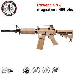 G&G - CM16 Carbine - EGC-16P-CAR-BNB-NCM - TAN - 1.1J