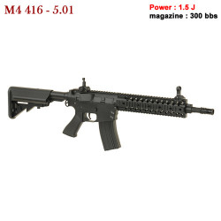 CYMA - M4 416 5.01 - AEG - 6 mm - 1.5 J