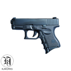 KJWORKS - G27 - GBB - Culasse metal - BK - 1J - 6mm