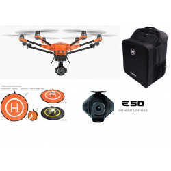 Yuneec Typhoon H520 RTF, Camera E50, Radio ST16S, 2x Batteries, Sac à dos et pad d'envol
