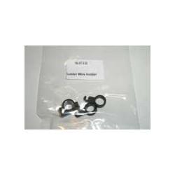 Rudder wire holder