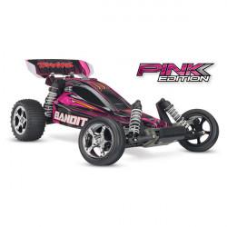 BANDIT PINK - 4x2 - 1/10 BRUSHED TQ 2.4GHZ - iD (TRX24054-1P)