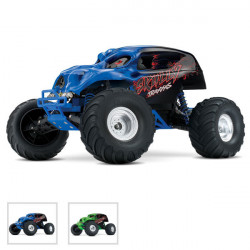SKULLY - 4x2 - 1/10 BRUSHED TQ 2.4GHZ - iD (TRX36064-1)