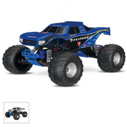 BIGFOOT - 4x2 - 1/10 BRUSHED TQ 2.4GHZ - iD (TRX36084-1)