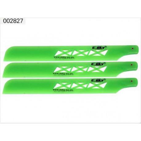 plastic main blade green color