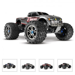 E-MAXX BRUSHLESS EDITION - 4x4 - 1/10 BRUSHLESS-TELE (TRX39085)