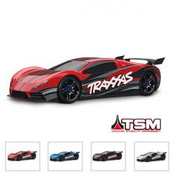 XO-1 SUPERCAR - 4x4 - 1/7 BRUSHLESS - TELEMETRIE - TSM (TRX64077-3)