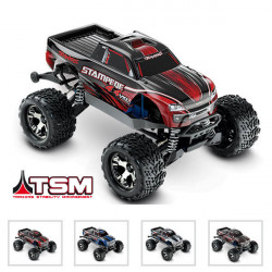 STAMPEDE 4x4 VXL - 1/10 BRUSHLESS -iD - TSM- SANS ACCUS/CHARGE (TRX67086-4)