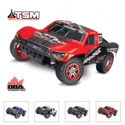 SLASH - 4x4 OBA - 1/10 BRUSHLESS - TSM - WIRELESS - iD - SANS AQ/CHG (TRX68086-24)