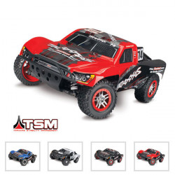 SLASH - 4x4 - 1/10 BRUSHLESS - TSM - WIRELESS - iD- SANS ACCUS/CHARGE (TRX68086-4)